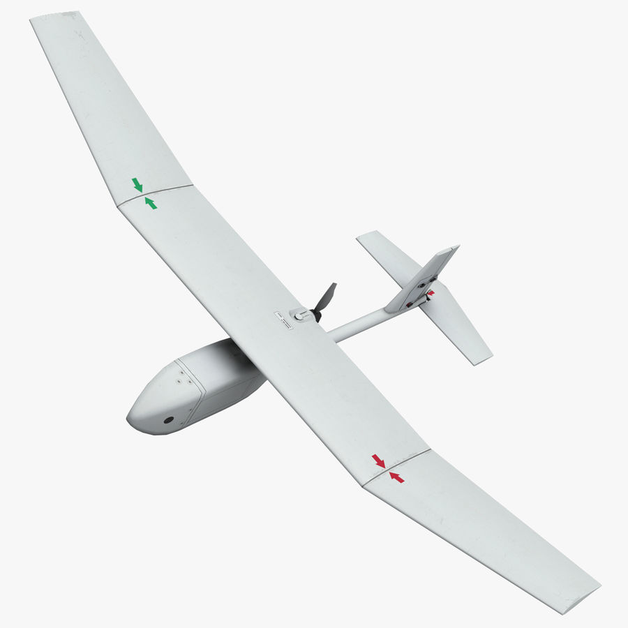 AeroVironment RQ-11レイヴン royalty-free 3d model - Preview no. 1
