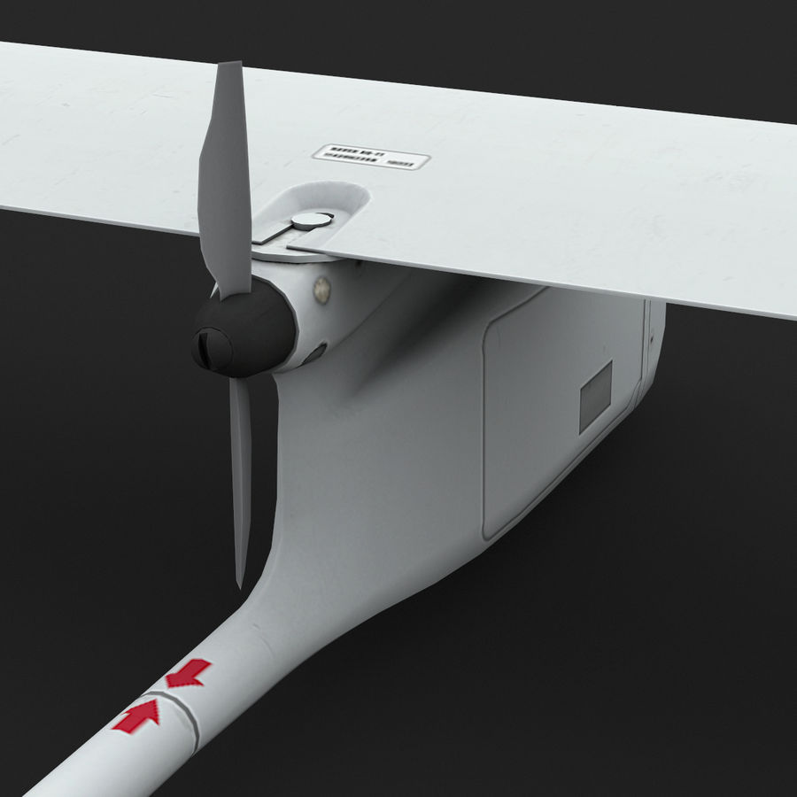 AeroVironment RQ-11レイヴン royalty-free 3d model - Preview no. 13