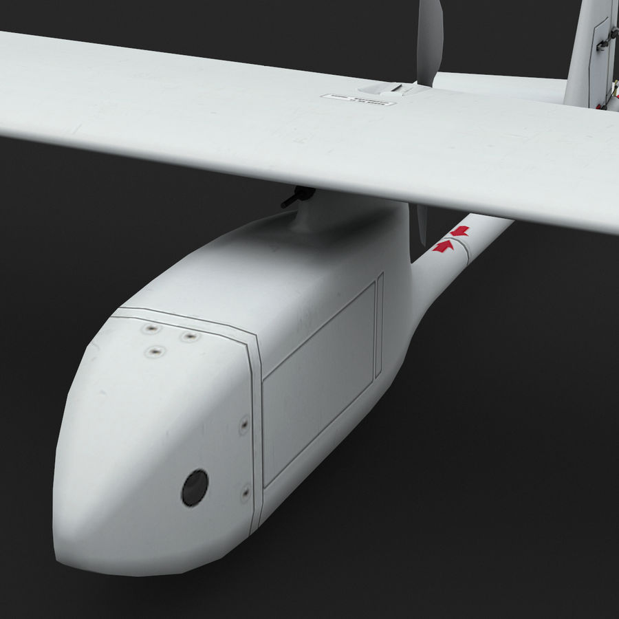AeroVironment RQ-11レイヴン royalty-free 3d model - Preview no. 10