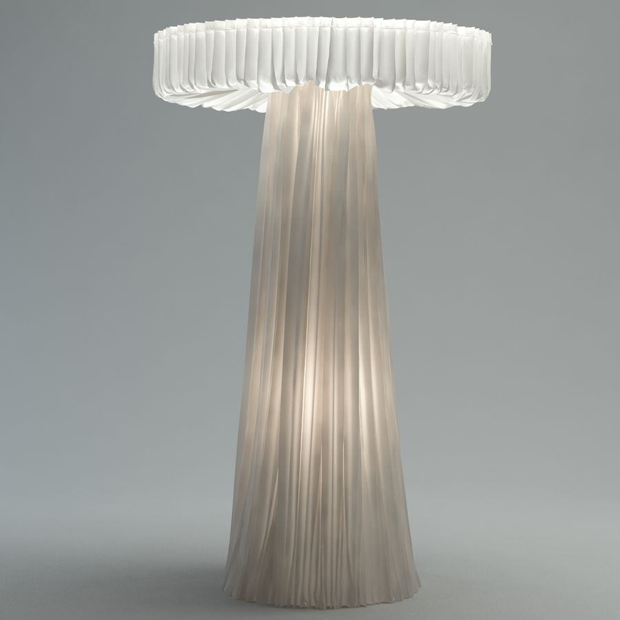 cappellini floor lamp royalty-free 3d model - Preview no. 4