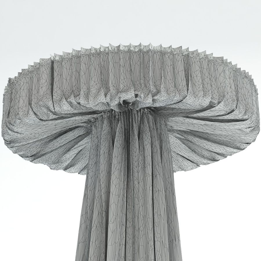 cappellini floor lamp royalty-free 3d model - Preview no. 7