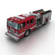 Pierce İtfaiye Aracı 3d model