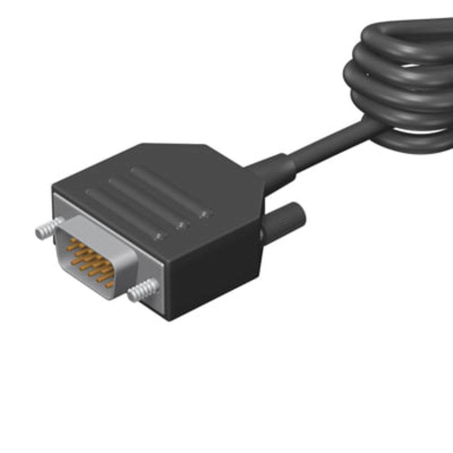 Kolekcja kabli royalty-free 3d model - Preview no. 15