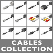Cables Collection 3d model