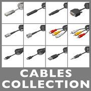 Collection de câbles 3d model