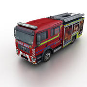 MAN TG Fire Rescue Truck 3d model