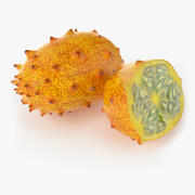 Realistic Kivano Fruit 3d model