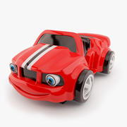 Kiddie Ride Sports Car 3d model