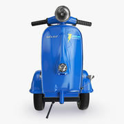 Segway Vespa 3d model