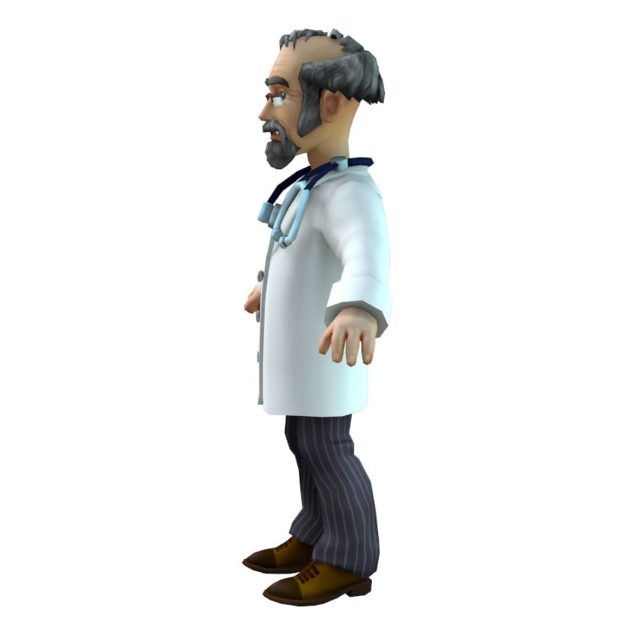 doctor royalty-free 3d model - Preview no. 5