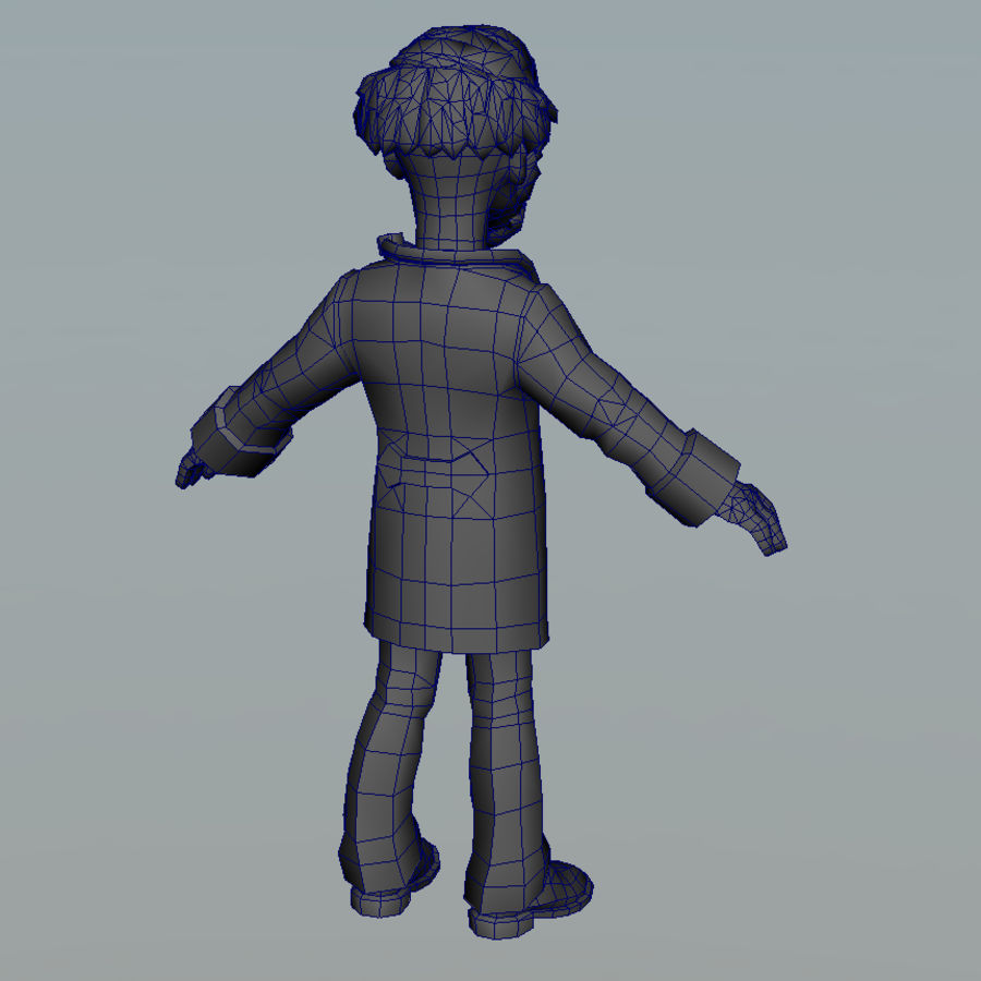 doctor royalty-free 3d model - Preview no. 7