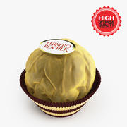 Czekolada Ferrero Rocher 3d model
