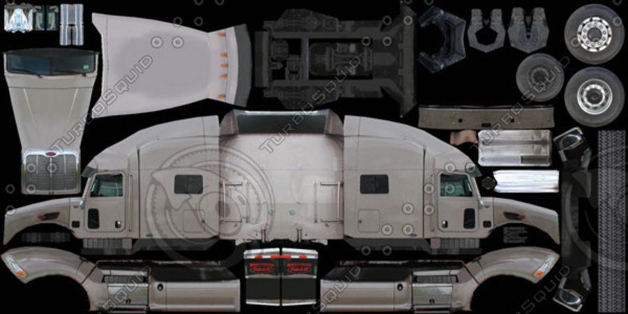 Peterbilt 386 Tanker royalty-free 3d model - Preview no. 14