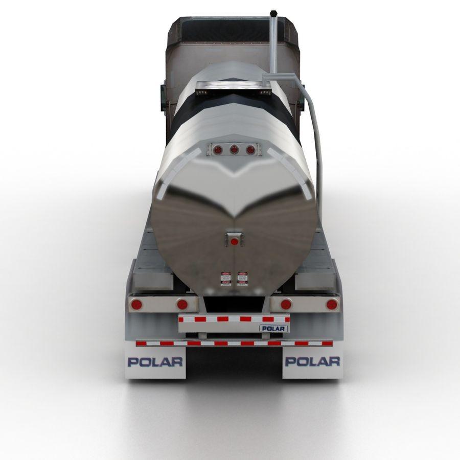 Peterbilt 386 Tanker royalty-free 3d model - Preview no. 5