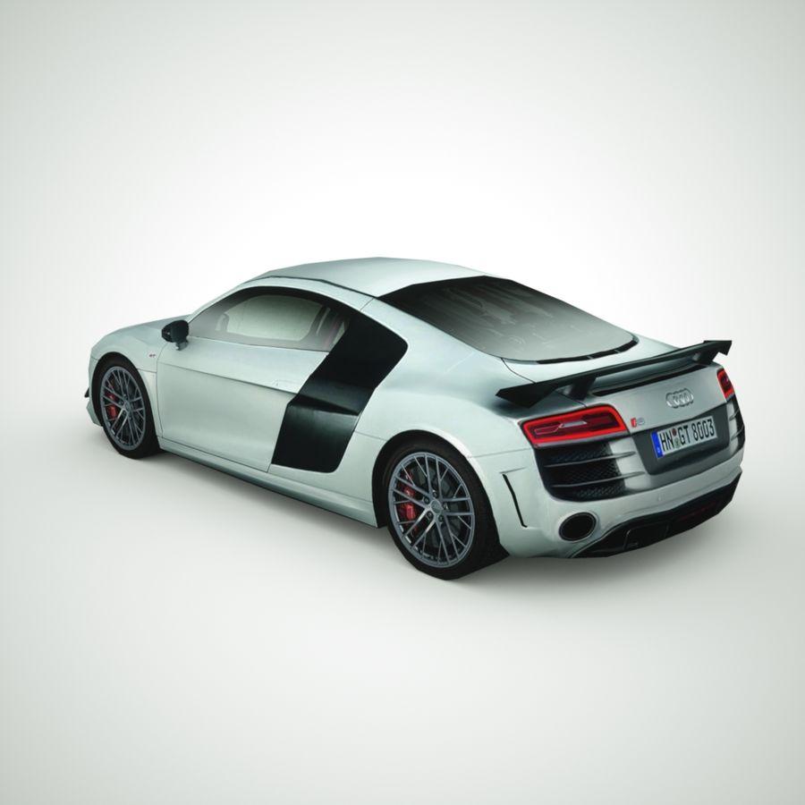 Audi R8 GT 2015 royalty-free 3d model - Preview no. 2