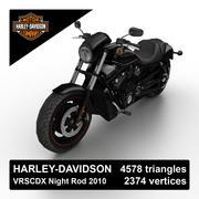 Harley-Davidson Night Rod 2010 3d model