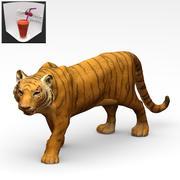 虎の像 3d model