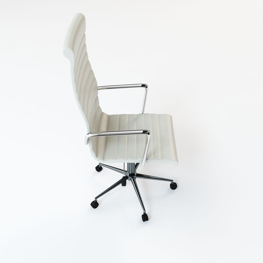 现代行政办公椅 royalty-free 3d model - Preview no. 6