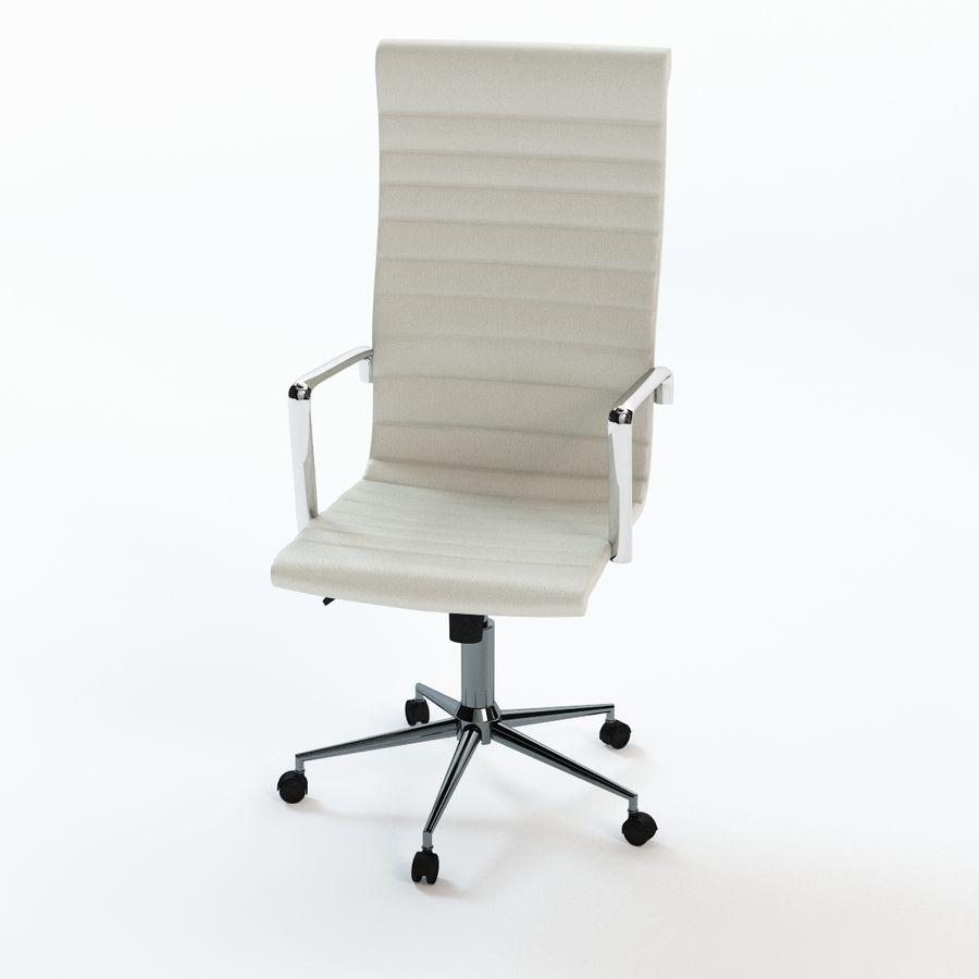 现代行政办公椅 royalty-free 3d model - Preview no. 2