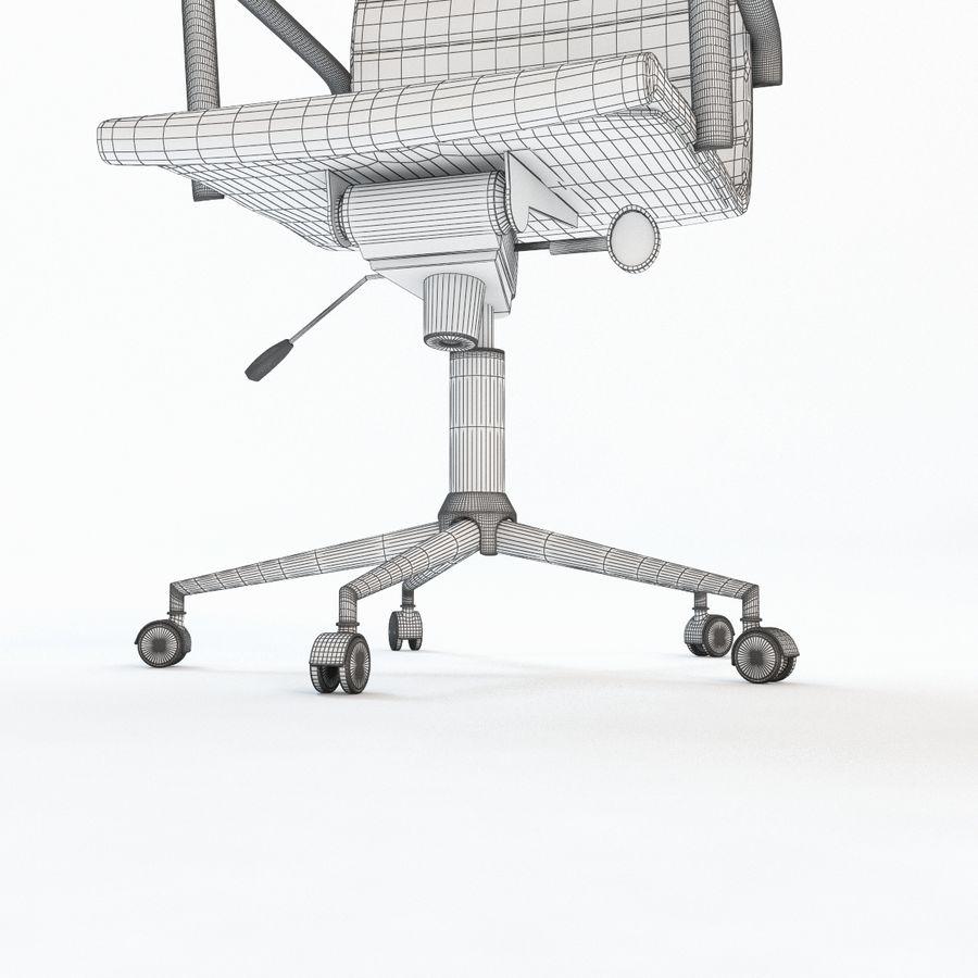 现代行政办公椅 royalty-free 3d model - Preview no. 9
