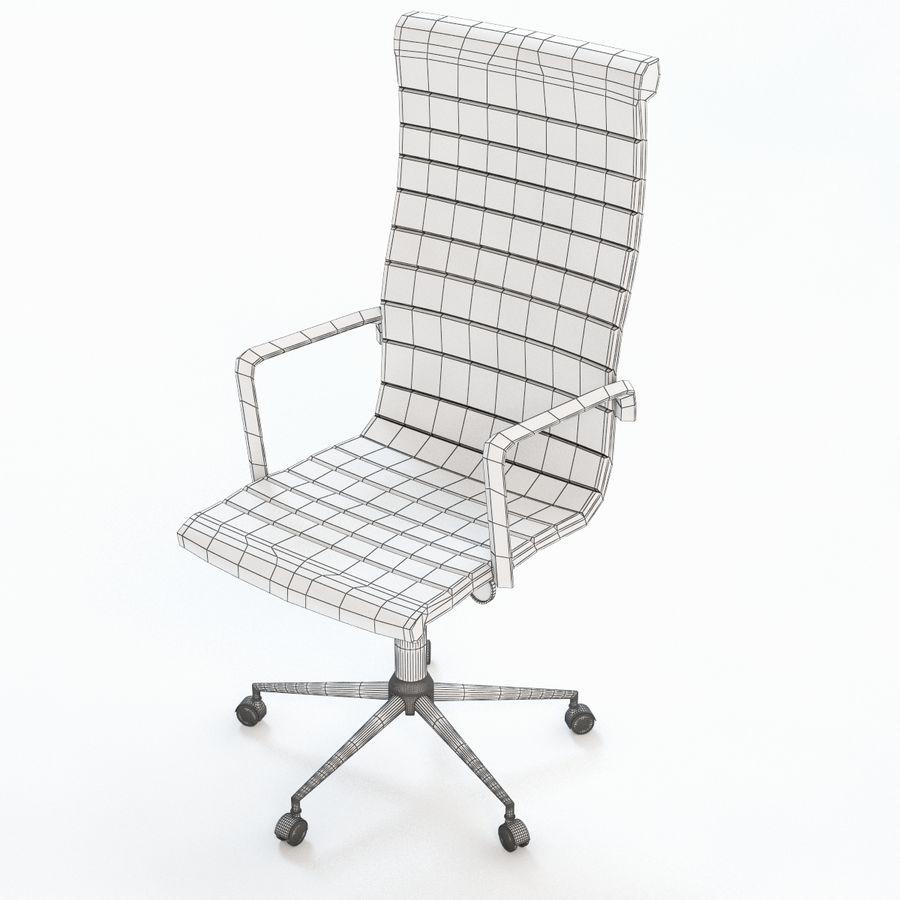 现代行政办公椅 royalty-free 3d model - Preview no. 5
