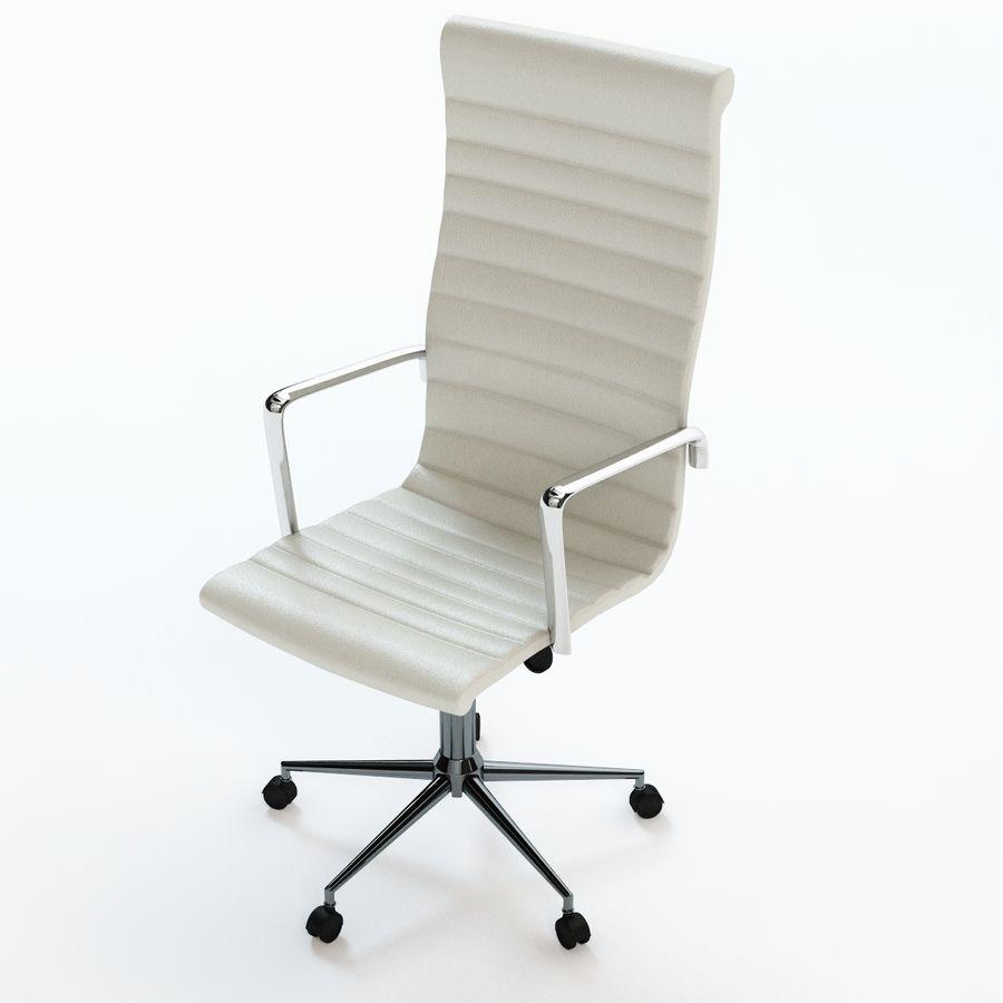 现代行政办公椅 royalty-free 3d model - Preview no. 4