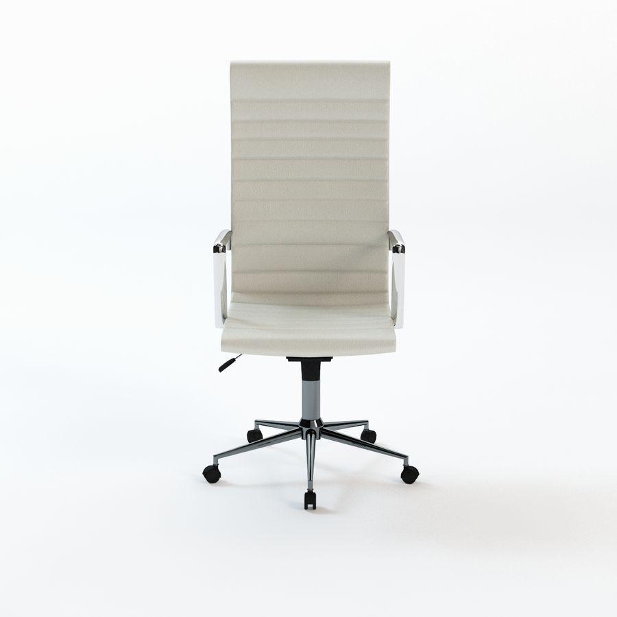 现代行政办公椅 royalty-free 3d model - Preview no. 3