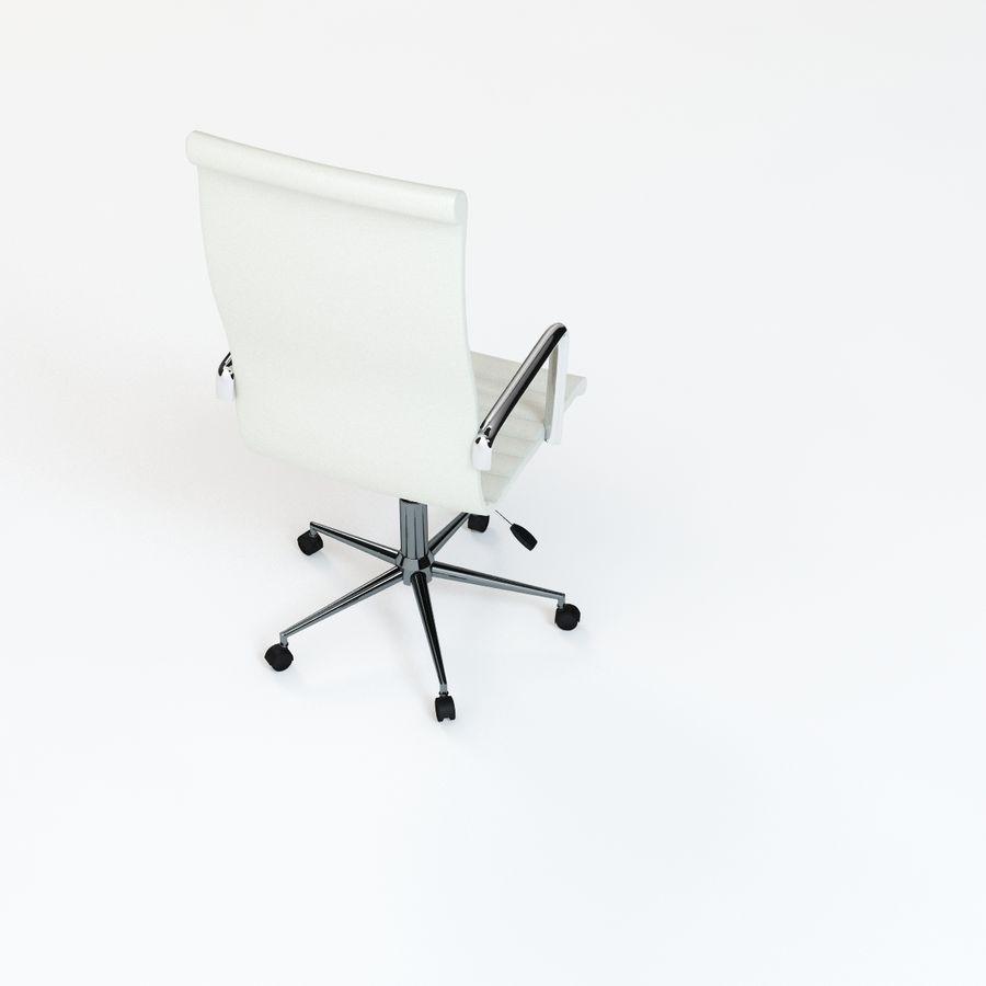 现代行政办公椅 royalty-free 3d model - Preview no. 7