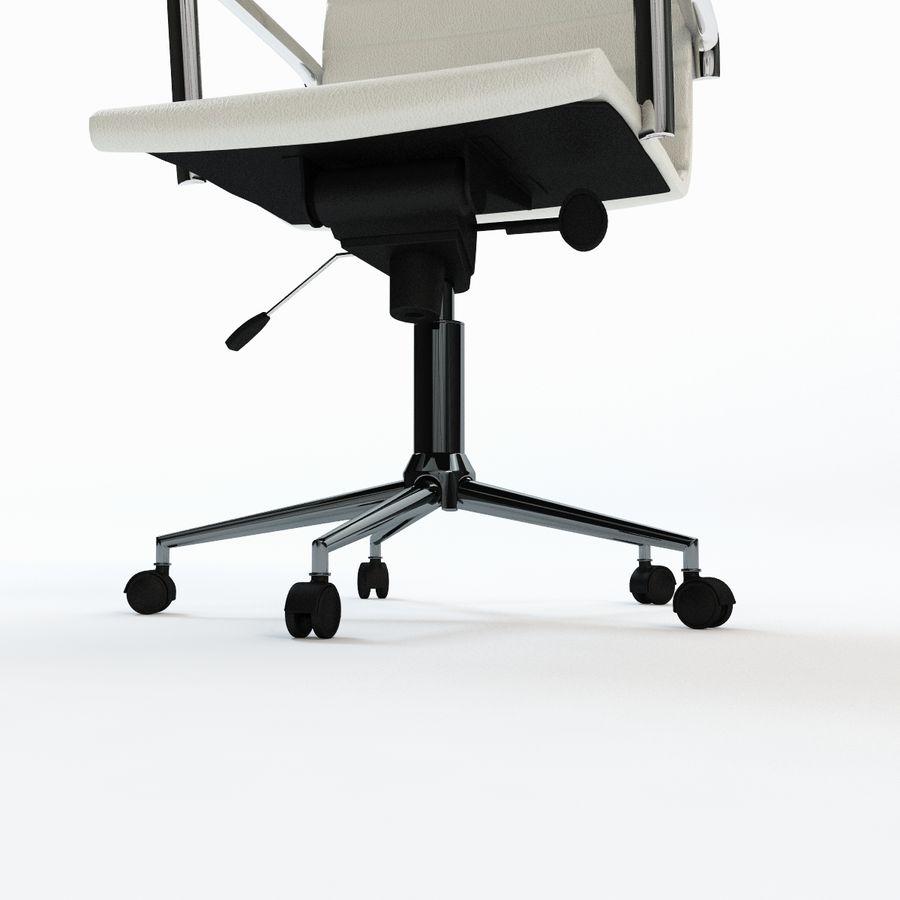 现代行政办公椅 royalty-free 3d model - Preview no. 8