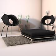Living Room Corner 3d model