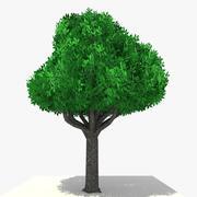 Low Poly Cartoon Tree 8 - 15 3d model
