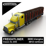 Freightliner Classic 2006 Timber 3d model