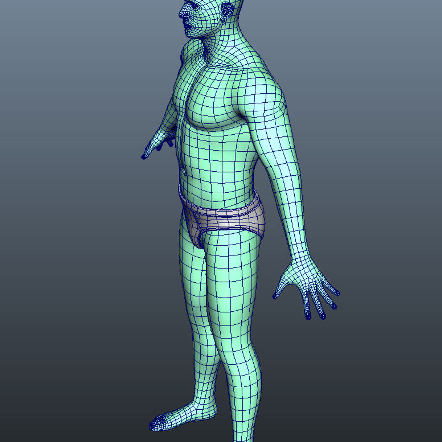 Character royalty-free 3d model - Preview no. 12