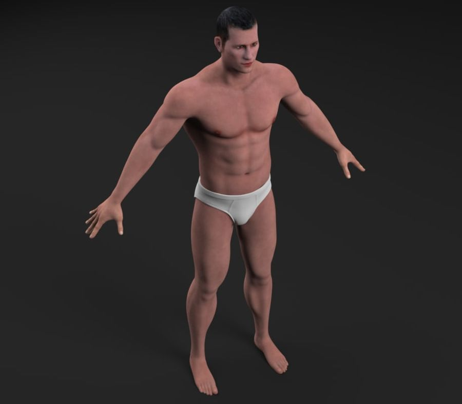 Character royalty-free 3d model - Preview no. 8
