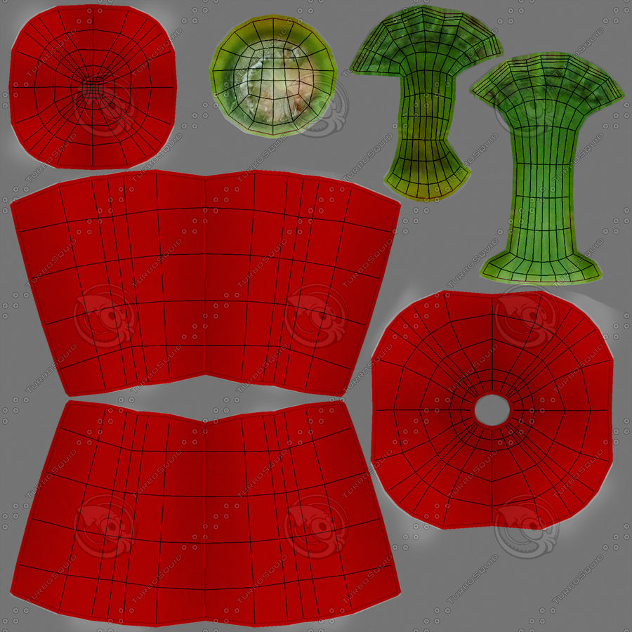 Pepper Red royalty-free 3d model - Preview no. 19