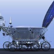 """Łazik księżycowy """"Lunnokhod-2"""" 3d model"""