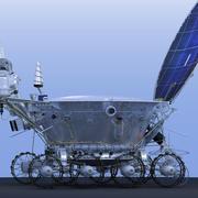 "Lunar rover ""Lunnokhod-2"" 3d model"