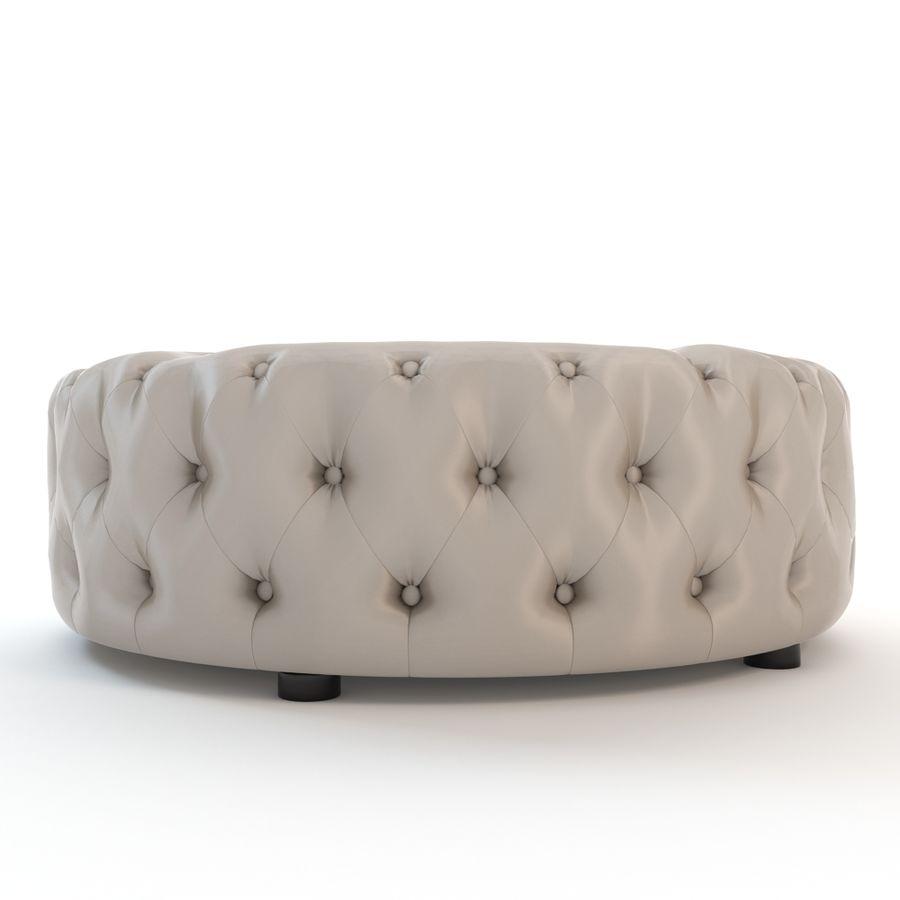 Swell Baxton Studio Cardiff Tufted Ottoman 3D Model 29 Obj Short Links Chair Design For Home Short Linksinfo