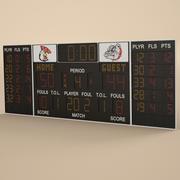 Tableau de bord 3d model