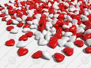 3D愛の心 3d model