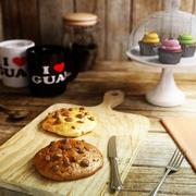 Chunk Cookies 3d model