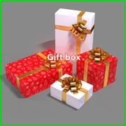 Geschenkbox v1 3d model