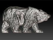 구호 곰 3d model