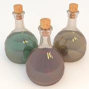 iksir şişesi 3d model