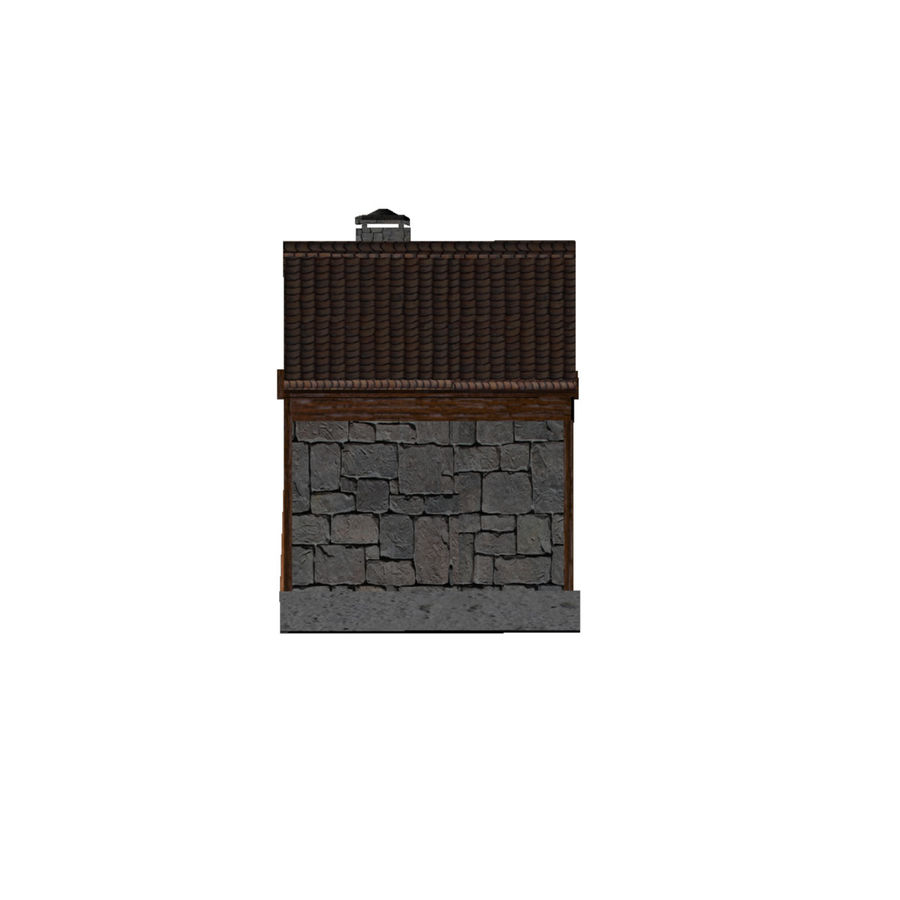 Shack royalty-free 3d model - Preview no. 4