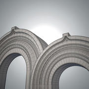 Ancient arch 3d model