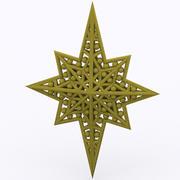 Stjärna 3d model