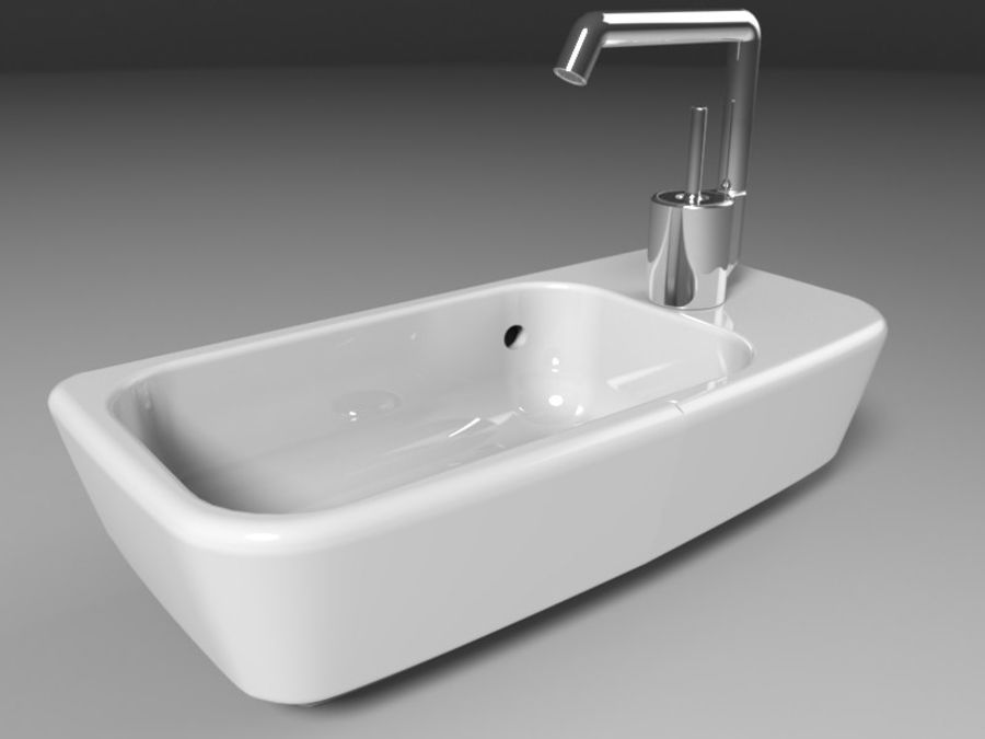 NURBS SINK royalty-free 3d model - Preview no. 1