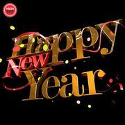 Szczęśliwego Nowego Roku 3d model