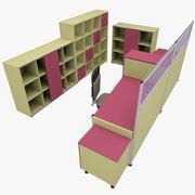 Office 87 3d model